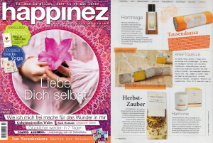 Abel in Happinez nr7 Sept Oct 2014