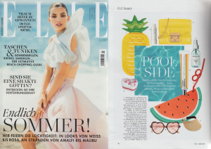 ELLE clipping #07 2017 , ILIA SPF Conditioner