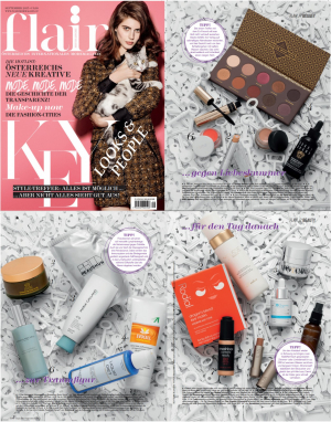 Flair Magazine Austria Tata Harper - rms - ilia - prtty September 2015