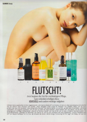Glamour, Dec 2017, Rahua Body Oil