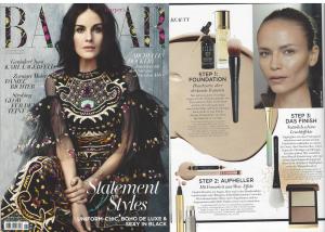 Harpers Bazaar, November 2015 ILIA Polka Dots & Moonbeams