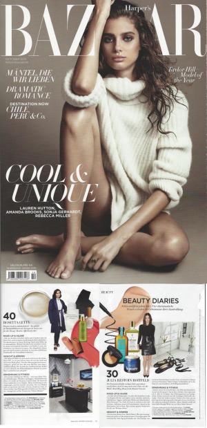 Harpers Bazaar Oktober 2015 - Sheswai - Rahua - RMS