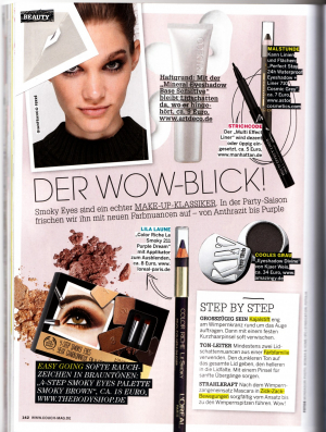 Kjaer Weis Eyeshadow in Couch Germany December 2013