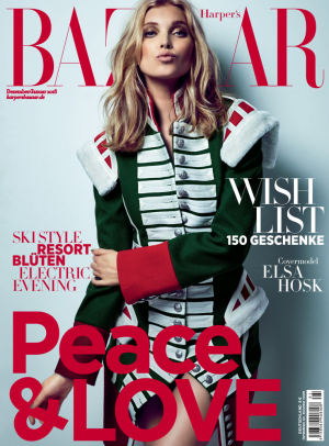 Kjaer Weis in Harpers Bazaar January 2018
