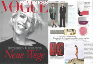 Kjaer Weis in Vogue Business Okt 2014