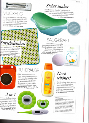 Konjac Sponge Baby in Mum, winter 2013