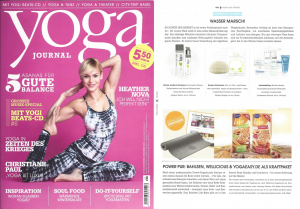 Konjac in yoga Journal Nov Dez 2014 2014