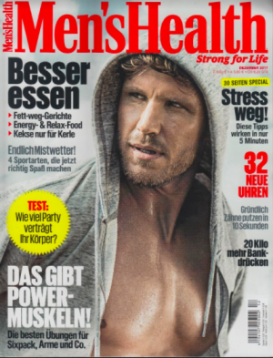 Mens Health, Dec 2017, Rahua
