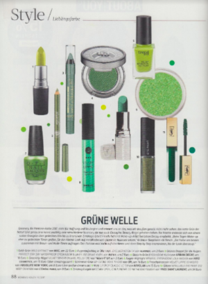 Women's Health #11, Hiro eye shadow