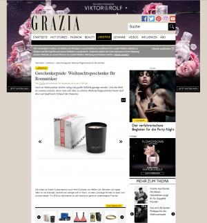 Grazia Online 30.11.16 ABHATI