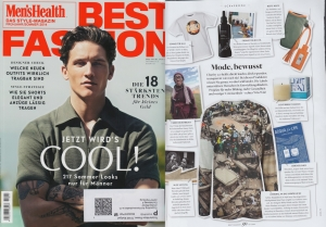 Kahina in Mens Health Summer Issue 2014