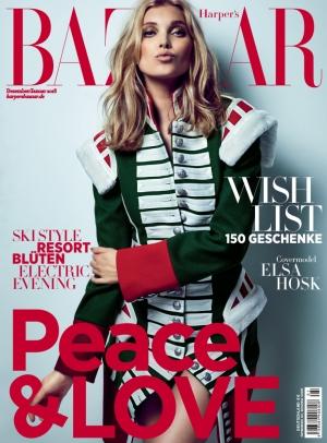 Kjaer Weis in Harpers Bazaar January 2018