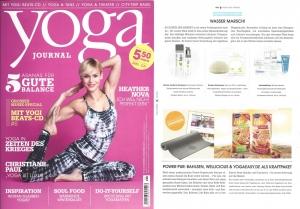 Konjac in yoga Journal Nov Dez 2014 2014