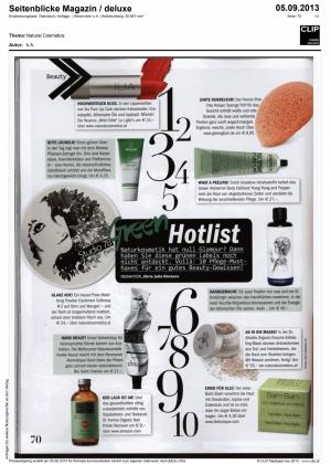 Seitenblick Green Hotlist NC_ILIA Dr