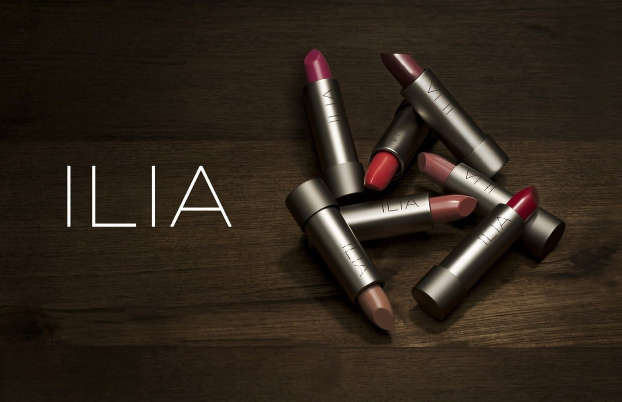 ILIA Beaty Lipsticks on wood