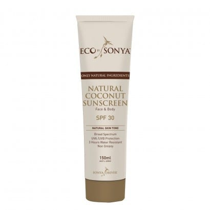 Organic Sunscreen with Zinc Oxide and Coconut - Tinted
