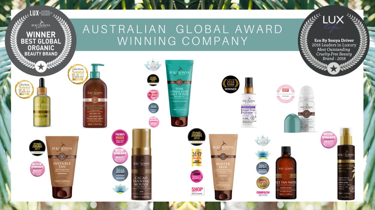 Eco by Sonya Natural Self-tan cosmetics Awards